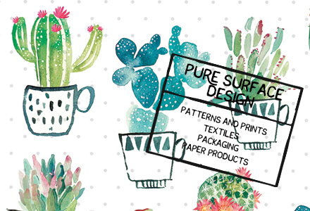 Emily Stalley is represented by Pure Illustration Surface Design Studio