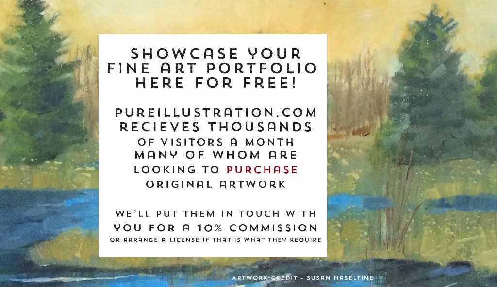 Pure Illustration - Free Fine Art Portfolio Hosting