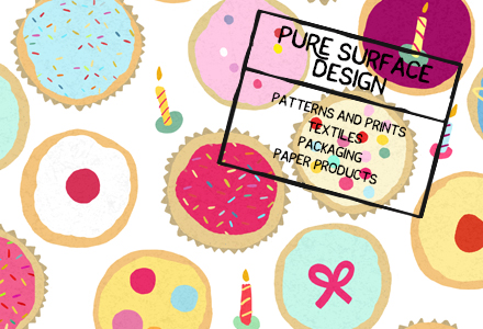 Pure Illustration Surface Pattern Design Studio