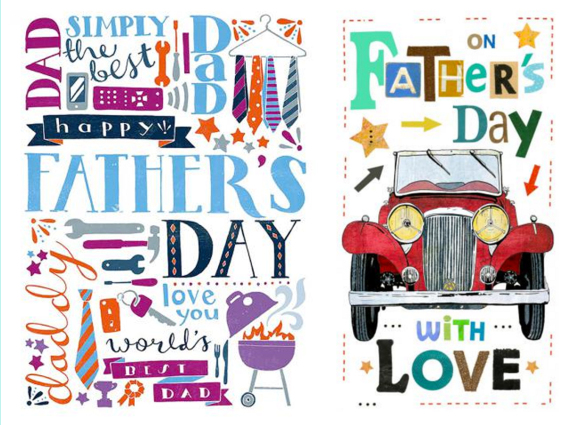 Pure Illustration Fathers Day Olivia Whitworth Claire Robinson