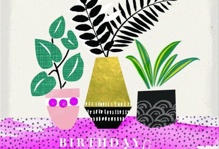 Sarah Lake works with Pure Illustration Licensing to create Greeting Card designs