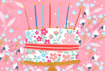 Sian Summerhayes works with Pure Illustration Licensing to create Greeting Card designs