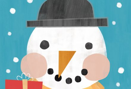 Sian Jenkins works with Pure Illustration Licensing to create Greeting Card designs