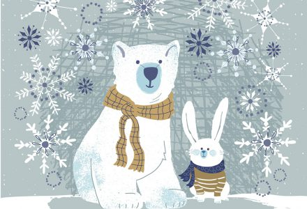 Lisa Knutsson works with Pure Illustration Licensing to create Greeting Card designs