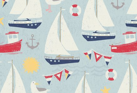 Ruth Hickson works with Pure Illustration Licensing to create Greeting Card designs