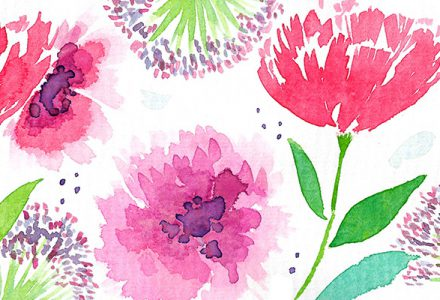 Katie Wells works with Pure Illustration Licensing to create Greeting Card designs
